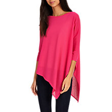 Buy Phase Eight Melinda Asymmetric Jumper, Hot Pink Online at johnlewis.com