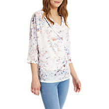 Buy Phase Eight Avalon Blurred Print Top, Multi Online at johnlewis.com
