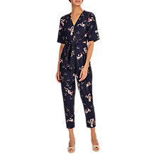 Buy Phase Eight Flora Jumpsuit, Navy Online at johnlewis.com