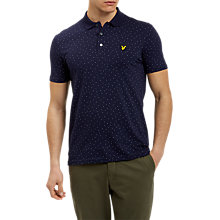 Buy Lyle & Scott Minimal Dot Polo Shirt, Navy Online at johnlewis.com