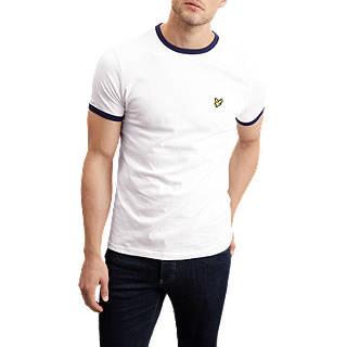 Lyle & Scott Ringer T-Shirt, White
