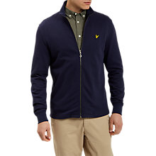 Buy Lyle & Scott Lightweight Funnel Neck Jacket, Navy Online at johnlewis.com
