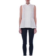 Buy French Connection Neema Sleeveless Cotton Shirt Online at johnlewis.com