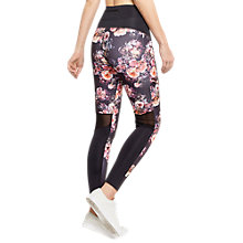 Buy Oasis Sport Graduated Print Leggings, Multi Online at johnlewis.com