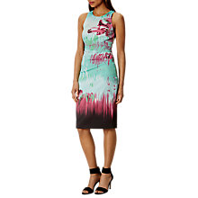 Buy Karen Millen Brush Stroke Pencil Dress, Multi Online at johnlewis.com