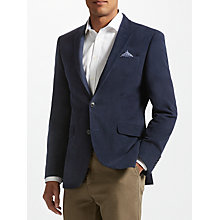 Buy John Lewis Moleskin Tailored Jacket, Navy Online at johnlewis.com