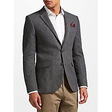 Buy John Lewis Herringbone Jacket, Grey Online at johnlewis.com