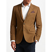 Buy John Lewis Camel Moleskin Tailored Blazer, Camel Online at johnlewis.com