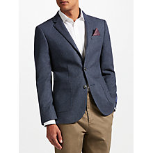 Buy John Lewis Donegal Tailored Jacket, Navy Online at johnlewis.com