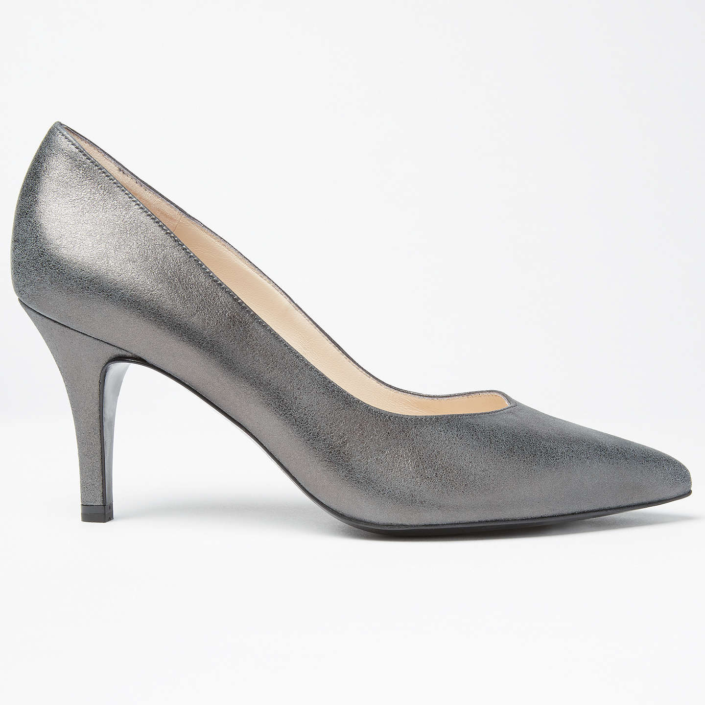 peter kaiser elektra pointed toe stiletto court shoes carbon at