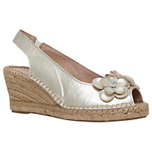 Buy Carvela Comfort Poppy Wedge Heel Peep Toe Sandals Online at johnlewis.com