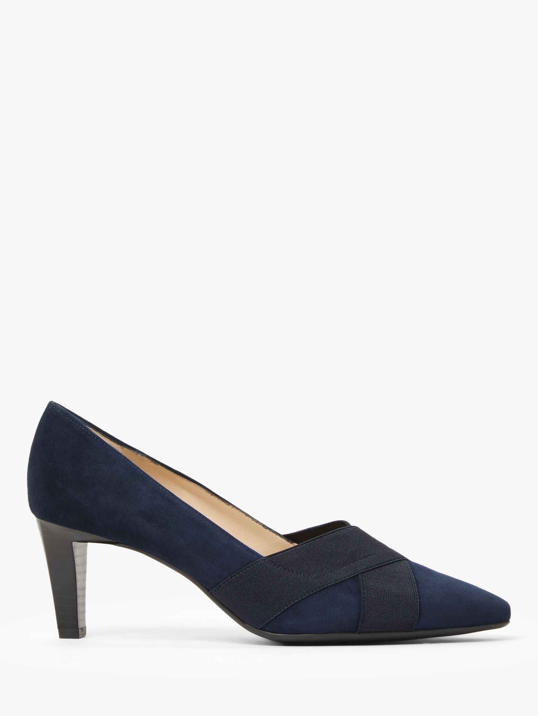 Peter Kaiser Peter Kaiser Malana Cross Strap Court Shoes, Navy