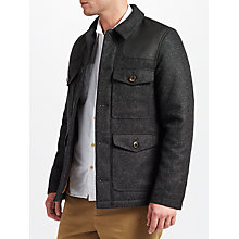Buy JOHN LEWIS & Co. Made in Manchester Donkey Jacket, Grey Online at johnlewis.com