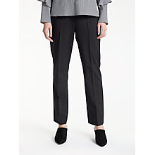 Buy Gerry Weber Pamela Straight Leg Trousers, Black Online at johnlewis.com