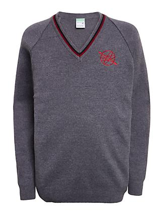 The Westgate School Pullover, Grey