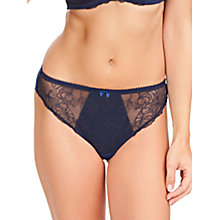 Buy Fantasie Estelle Bikini Briefs, Navy Online at johnlewis.com