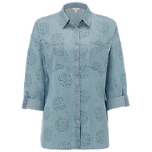 Buy White Stuff Rupee Shirt, Denim Online at johnlewis.com