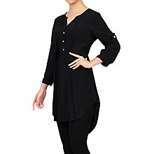 Buy Jolie Moi Button Front Pleated Tunic Online at johnlewis.com