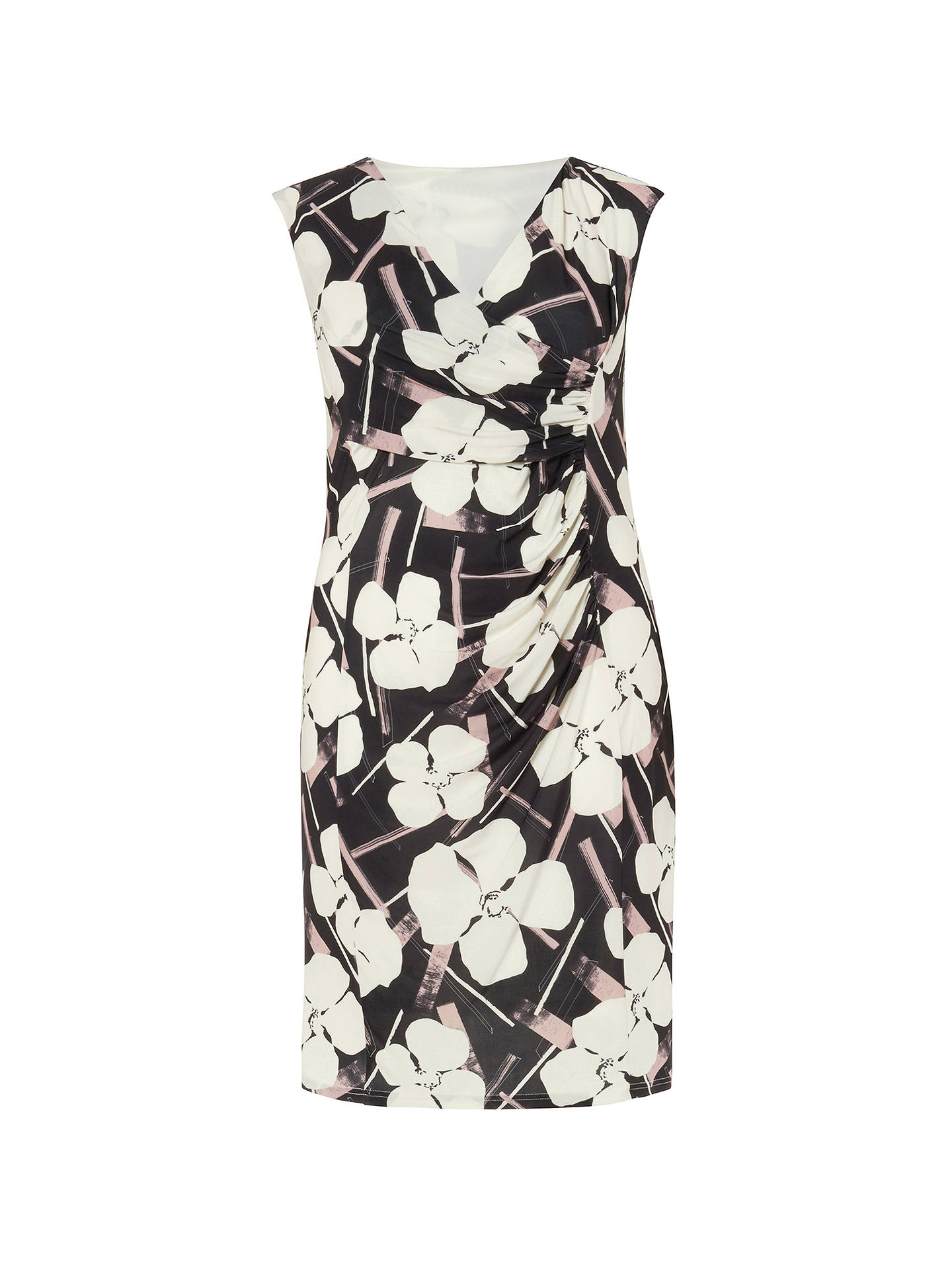 Buy Studio 8 Annika Dress, Black/Ivory, 12 Online at johnlewis.com