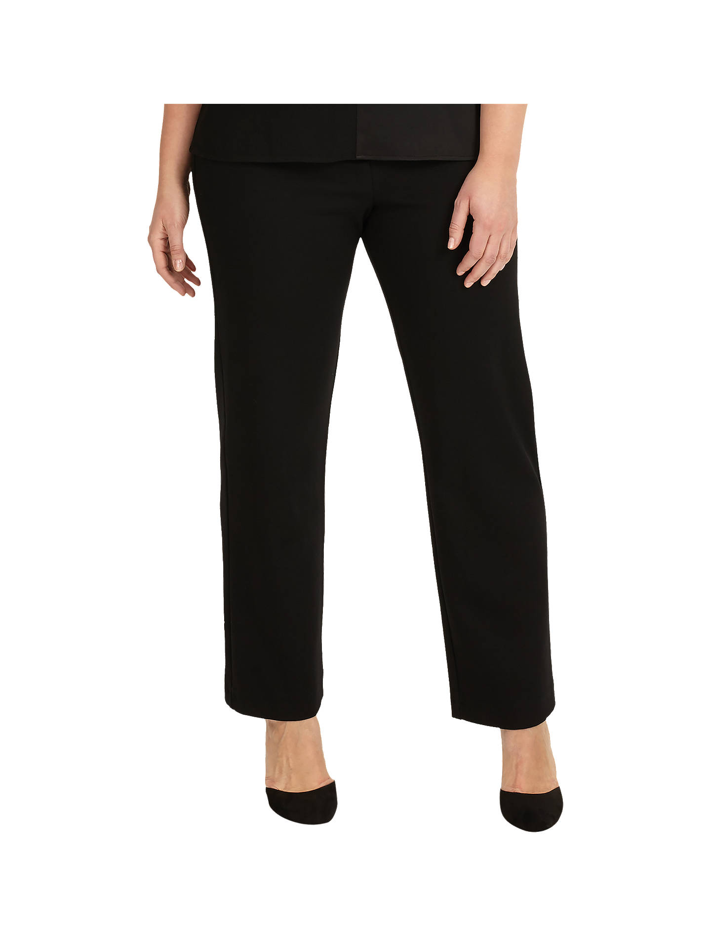 BuyStudio 8 Phillis Trousers, Black, 16 Online at johnlewis.com