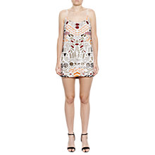 Buy French Connection Adanya Shine Sequinnned Slip Dress, Camber Sands Multi Online at johnlewis.com