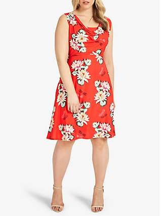 Studio 8 Saskia Floral Print Dress, Multi