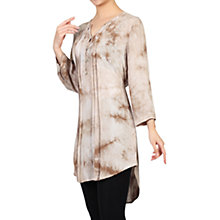 Buy Jolie Moi Tie Dye Tunic Dress, Tan Online at johnlewis.com
