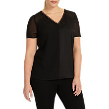 Buy Studio 8 River Top, Black Online at johnlewis.com