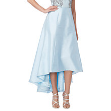 Buy Raishma Taffeta Hi-Lo Skirt, Blue Online at johnlewis.com