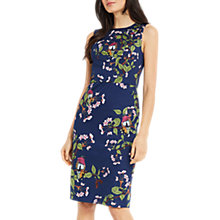 Buy Oasis Topaz Bird Print Pencil Dress, Multi Online at johnlewis.com