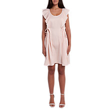 Buy French Connection Nia Drape Cap Sleeved Mini Dress Online at johnlewis.com
