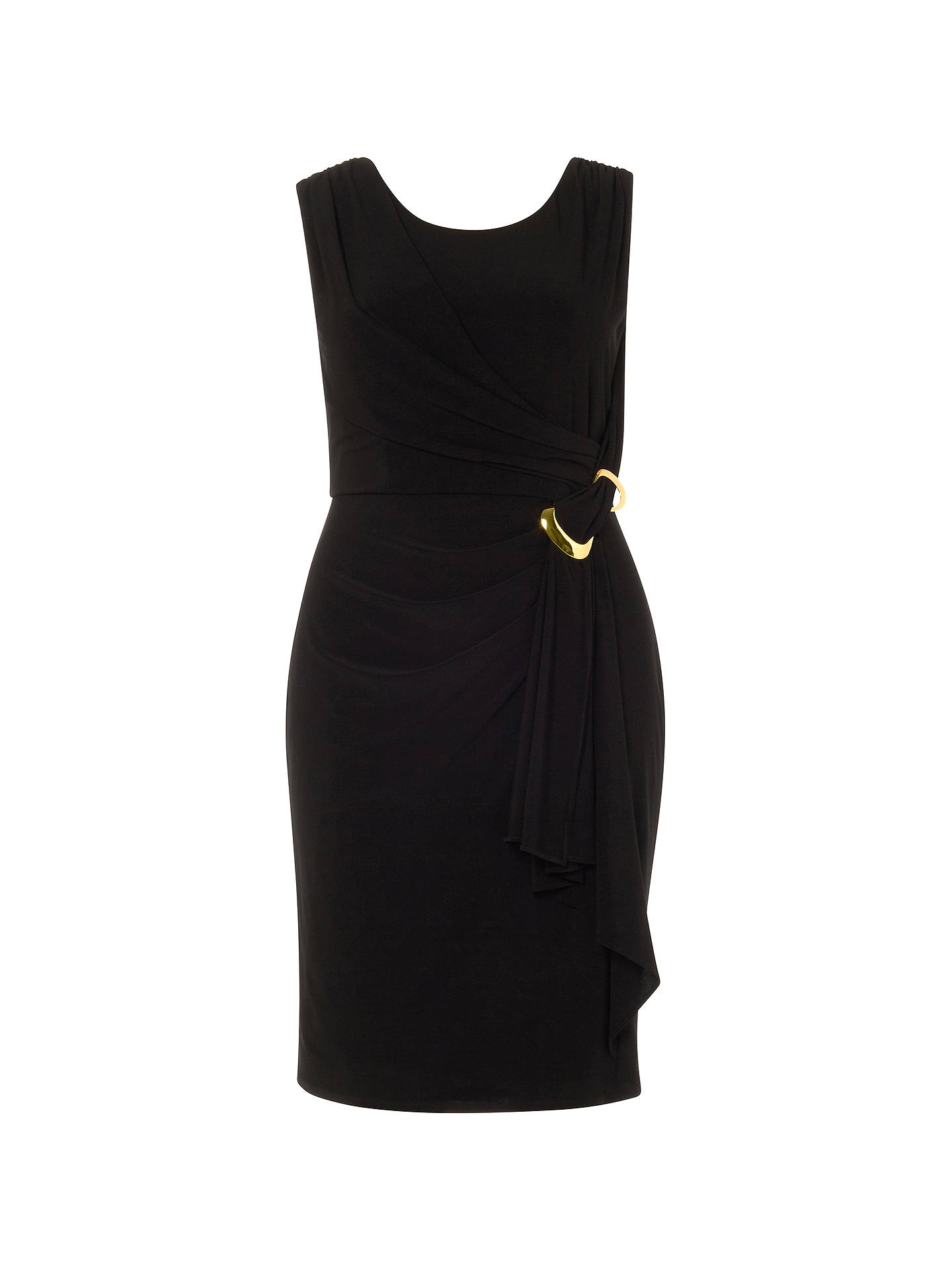 BuyStudio 8 Arabella Dress, Black, 12 Online at johnlewis.com