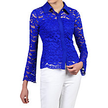 Buy Jolie Moi Scalloped Lace Blouse Online at johnlewis.com