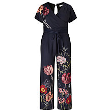 Buy Phase Eight Olivia Jumpsuit, Navy Online at johnlewis.com
