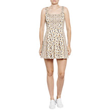 Buy French Connection Niko Stretch Dress, Summer White/Multi Online at johnlewis.com