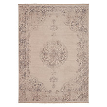 Buy John Lewis Kabir Medallion Rug, Dove Grey Online at johnlewis.com