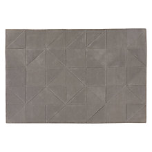 Buy John Lewis Scandi Jonas Carved Rug, Grey Online at johnlewis.com