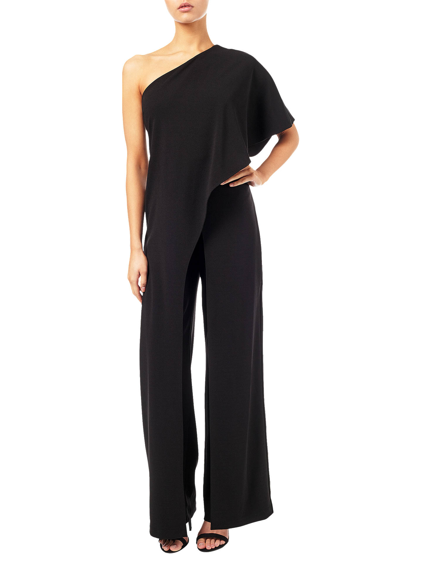 b4831c056b9 Adrianna Papell One Shoulder Jumpsuit at John Lewis   Partners