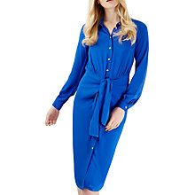 Buy Closet Tie Collar Shirt Dress, Cobalt Blue Online at johnlewis.com
