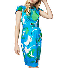 Buy Closet Print Tulip Dress, Multi Online at johnlewis.com