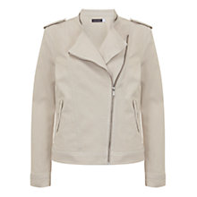 Buy Mint Velvet Denim Military Jacket Online at johnlewis.com