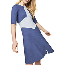 Buy Closet Denim A-Line Dress, Navy Online at johnlewis.com