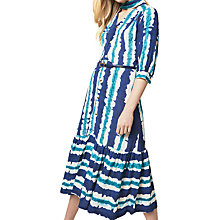 Buy Closet Tie Bow Stripe Dress, Multi Online at johnlewis.com