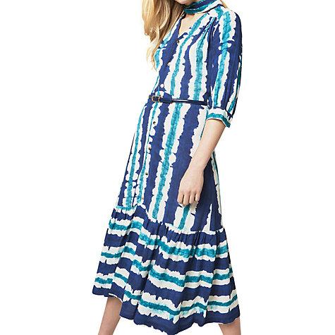 Buy Closet Tie Bow Stripe Dress, Multi Online At Johnlewis.com ...