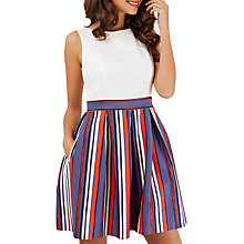 Buy Closet Sleeveless Dress, Multi Online at johnlewis.com