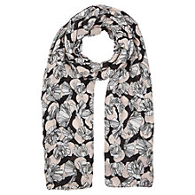 Buy Jigsaw Poppy Field Modal Scarf, Pink Online at johnlewis.com
