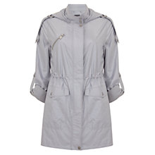 Buy Mint Velvet Metallic Soft Parka Coat Online at johnlewis.com