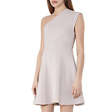 Buy Reiss Keria One-Shoulder Dress Online at johnlewis.com