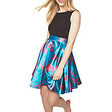Buy Closet Printed Skater Dress, Multi Online at johnlewis.com