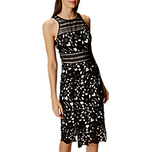 Buy Karen Millen Lace Pencil Dress, Black/Multi Online at johnlewis.com